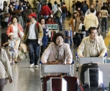 Inizia la Golden Week: giapponesi in viaggio in patria e all'estero